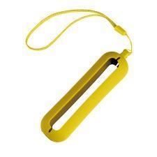 """Обложка с ланъярдом к зарядному устройству """"Seashell-1"""", желтый,силикон"""