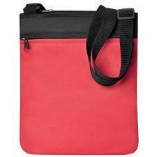 """Промо сумка на плечо """"Simple""""; красный; 23х28 см; полиэстер; шелкография"""
