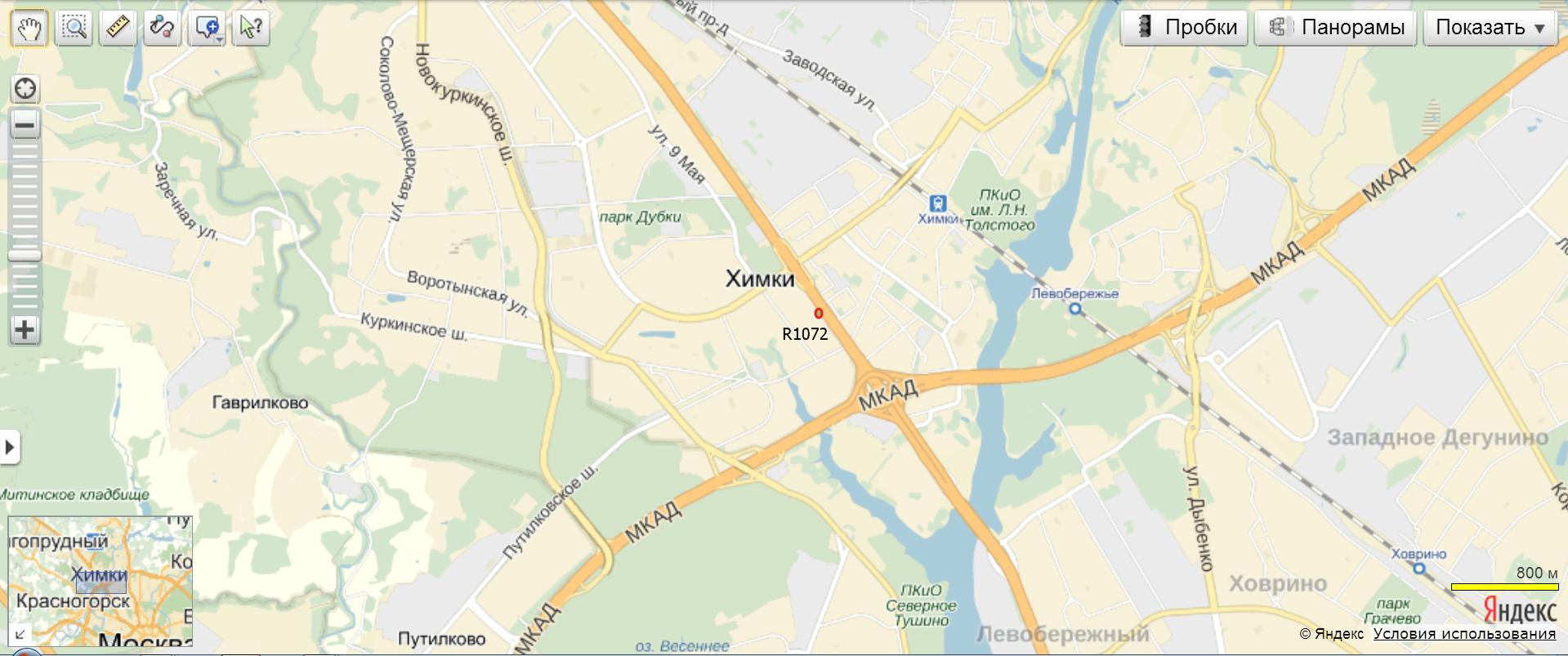 Химкинский район международное шоссе 26 схема