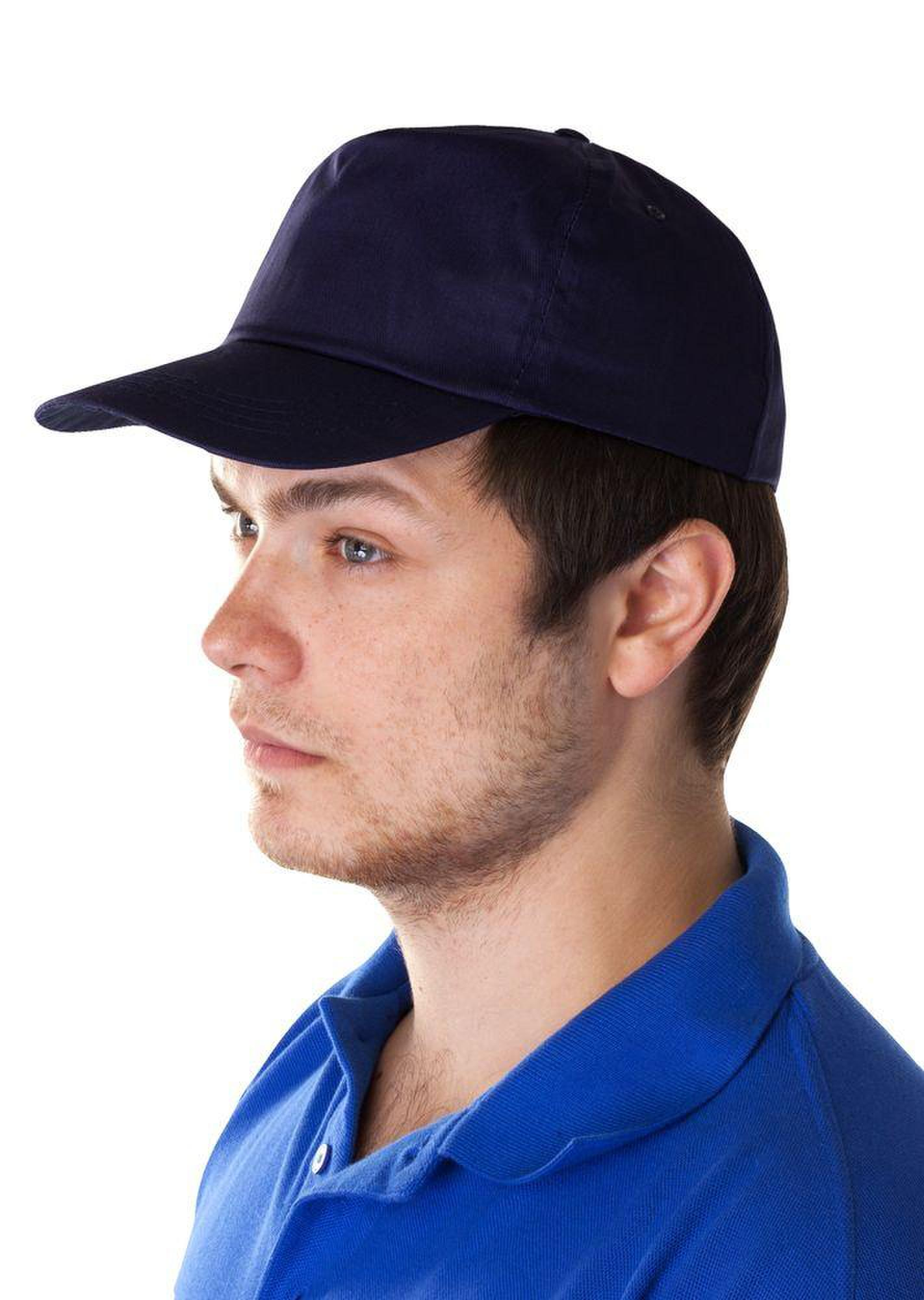 Бейсболка Unit Promo, темно-синяя